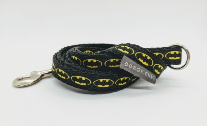 Doggy Chic Batman lead for your dog