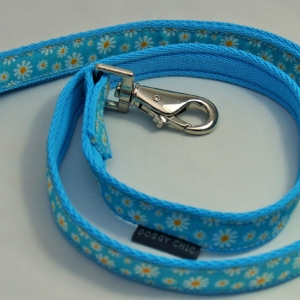 Blue Daisy Flower Lead for your dog