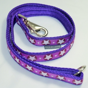 Purple Star lead for your dog