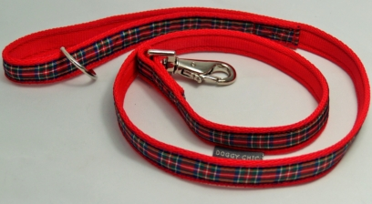 Royal Stewart Tartan Lead for your dog