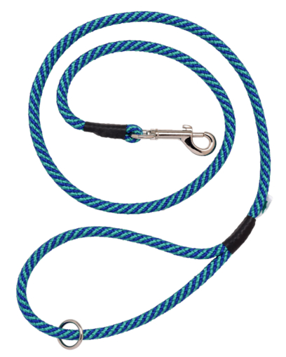 Green and Blue Braid Trigger Hook Lead