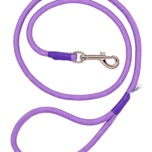 Lilac Braid Trigger Hook Lead FOR YOUR DOG