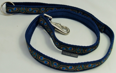 Peacock-Feathers-Lead- for your dog