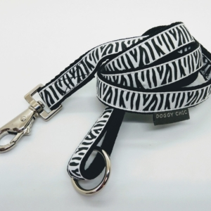 Zebra Print Lead for your dog