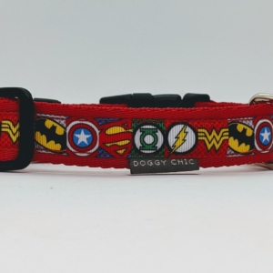 superhero collar for your dog
