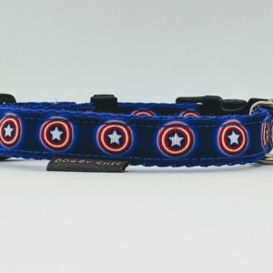 superhero dog collar