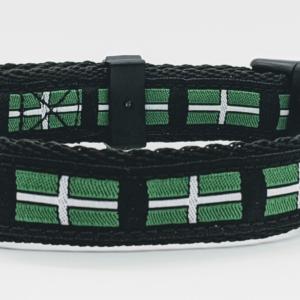 doggy chic devon flag collar