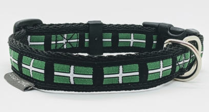 doggy chic devon flag collar