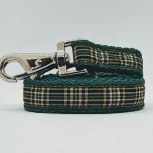 Irish National Tartan Lead for your dog