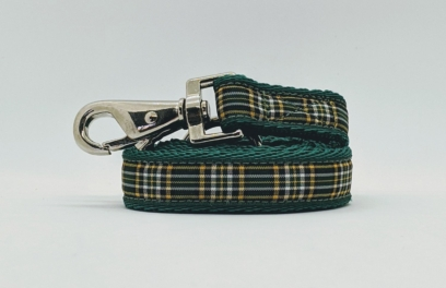 Irish National Tartan Lead for your dog
