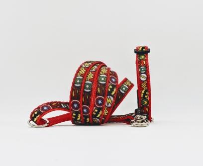 superhero puppy collar