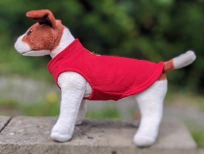 red dog jumper