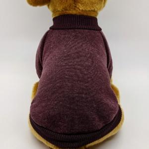 Sweatshirt Dog Jumper in Chocolate