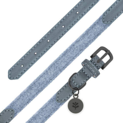 sötnos dog collar in grey