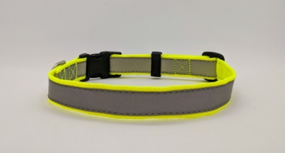 Hi Viz/Reflective Dog Collar
