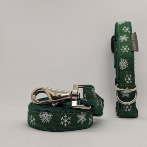Christmas Collar and Lead