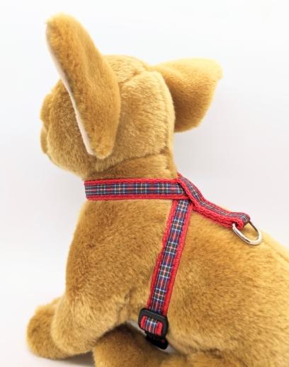 Tartan Puppy Harness