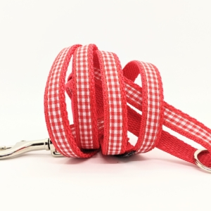 Red Gingham For Small Dogs and Puppies