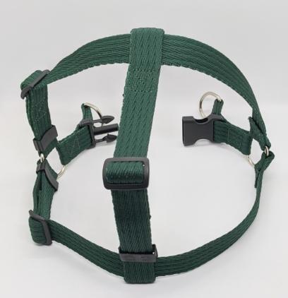 green dog harness