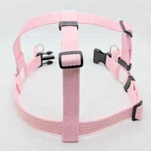 pink dog harness